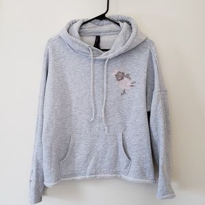 Betsy Johnson Active Performance Flower Hoodie